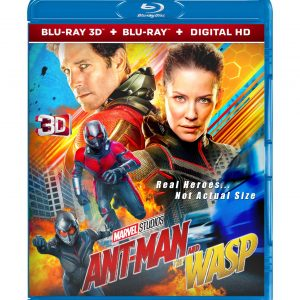 Ant-Man and the Wasp 3D (Blu-ray 2019) Region free!!!