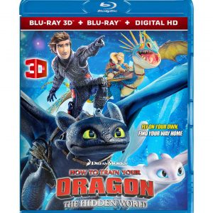 How to Train Your Dragon: The Hidden World ( 3D Blu-ray 2019) Region free!!!