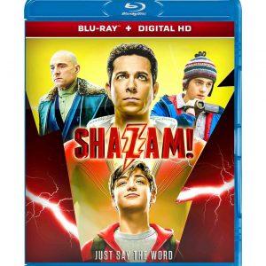 Shazam! ( Blu-ray 2019) Region free!!!