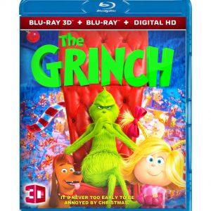 The Grinch 3D (Blu-ray 2019) Region free!!!