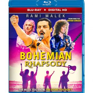 Bohemian Rhapsody ( Blu-ray 2019) Region free!!!