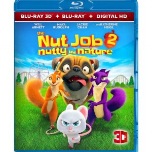 The Nut Job 2: Nutty by Nature  (3D Blu-ray) Region free!!!