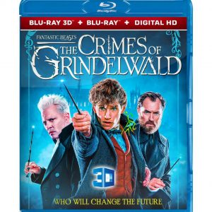 Fantastic Beasts: The Crimes of Grindelwald  3D (Blu-ray 2019) Region free!!!