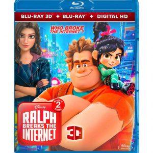 Ralph Breaks the Internet ( 3D Blu-ray 2019) Region free!!!