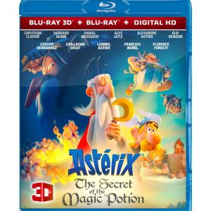 Asterix: The Secret of the Magic Potion 3D (Blu-ray 2019) Region free!!!
