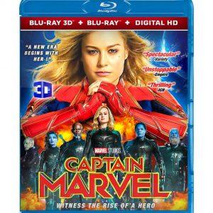 Captain Marvel 3D (Blu-ray 2019) Region free!!!