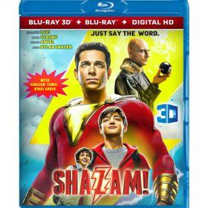 Shazam! ( 3D Blu-ray 2019) Region free!!!