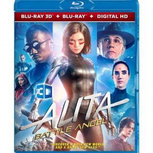 Alita: Battle Angel 3D (Blu-ray 2019) Region free!!!