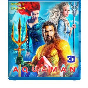 Aquaman ( 3D Blu-ray 2019) Region free!!!