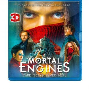 Mortal Engines ( 3D Blu-ray 2019) Region free!!!