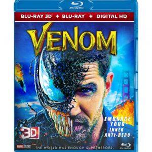 Venom ( 3D Blu-ray 2019) Region free!!!
