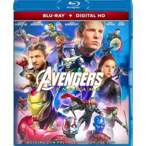 Avengers End Game ( Blu-ray 2019) Region free!!!
