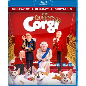 The Queen's Corgi ( 3D Blu-ray 2019) Region free!!!