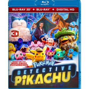 Pokémon Detective Pikachu ( 3D Blu-ray 2019) Region free!!!