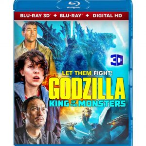 Godzilla: King of the Monsters ( 3D Blu-ray 2019) Region free!!!