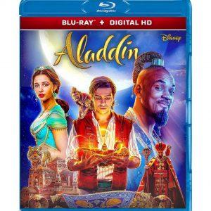 Aladdin ( Blu-ray 2019) Region free!!!