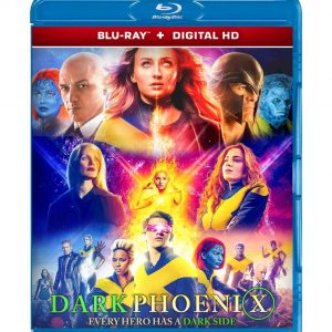 X-Men Dark Phoenix ( Blu-ray 2019) Region free!!!