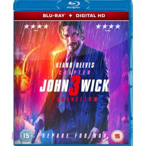 John Wick: Chapter 3 – Parabellum ( Blu-ray 2019) Region free!!!