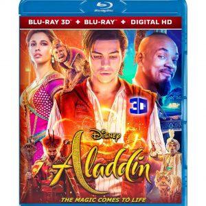 Aladdin ( 3D Blu-ray 2019) Region free!!!