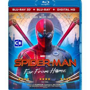 Spider-Man: Far From Home ( 3D Blu-ray 2019) Region free!!!
