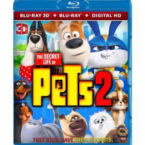 The Secret Life of Pets 2 ( 3D Blu-ray 2019) Region free!!!