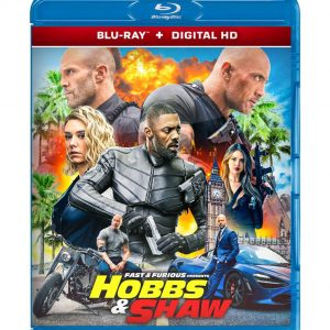 Fast & Furious Presents: Hobbs & Shaw ( Blu-ray 2019) Region free!!!