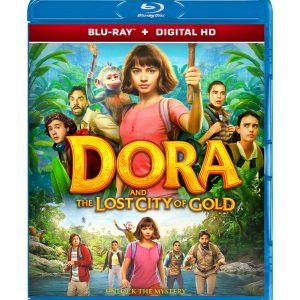 Dora and the Lost City of Gold  ( Blu-ray 2019) Region free!!!
