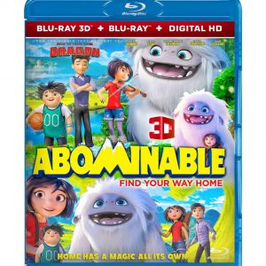 Abominable  ( 3D Blu-ray ) Region free!!!