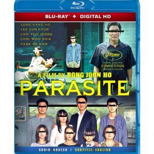 Parasite ( Blu-ray 2019) Region free!!!