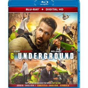 6 Underground ( Blu-ray 2019) Region free!!!