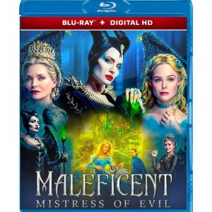 Maleficent: Mistress of Evil ( Blu-ray 2019) Region free!!!