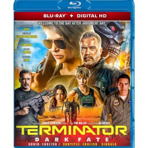 Terminator: Dark Fate ( Blu-ray 2019) Region free!!!