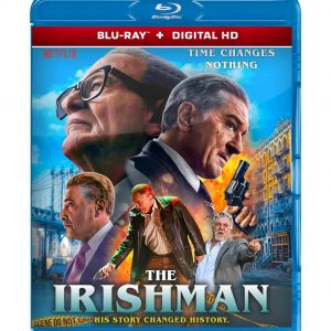 The Irishman ( Blu-ray 2019) Region free!!!