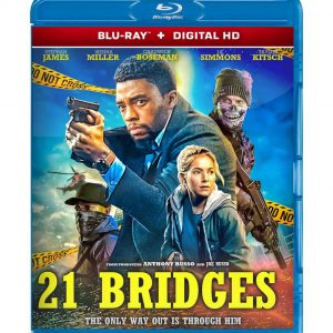 21 Bridges ( Blu-ray 2019) Region free!!!