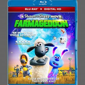 A Shaun the Sheep Movie: Farmageddon ( Blu-ray 2019) Region free!!!