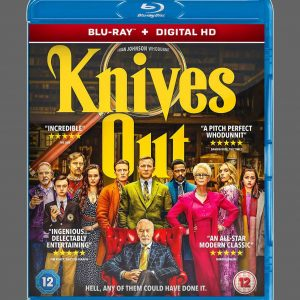 Knives Out ( Blu-ray 2019) Region free!!!