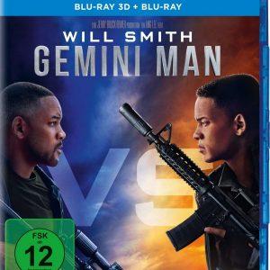 Gemini Man ( 3D Blu-ray 2019) Region free!!!