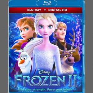 Frozen II ( Blu-ray 2019) Region free!!!