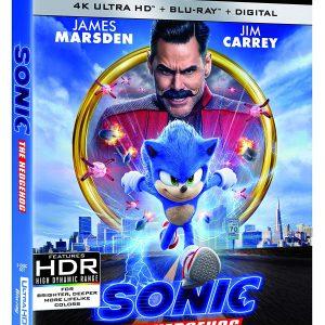 Sonic the Hedgehog ( 4K Ultra HD + Blu-ray + Digital )