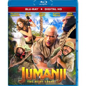Jumanji: The Next Level  ( Blu-ray 2019) Region free!!!
