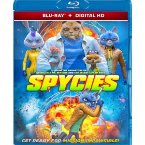 Spycies ( Blu-ray 2019) Region free!!!