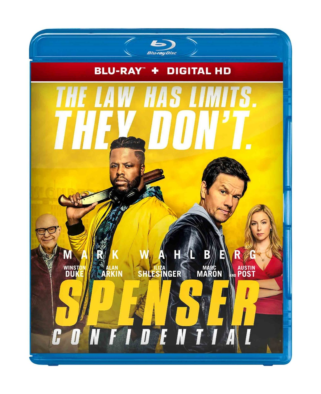 Spenser Confidential Blu Ray 2020 Region Free