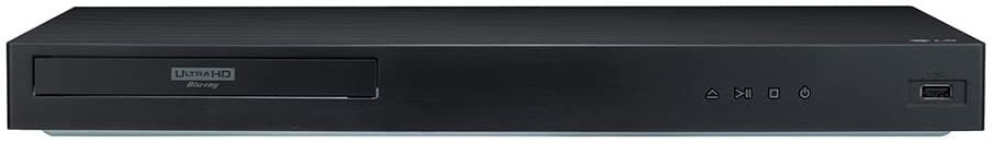 LG UBK90 4K Ultra-HD Blu-ray Player with Dolby Vision