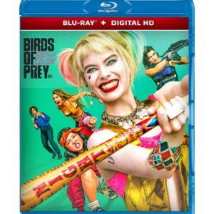 Harley Quinn: Birds of Prey ( Blu-ray 2020) Region free !!!