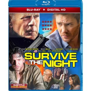 Survive the Night ( Blu-ray 2020) Region free !!!