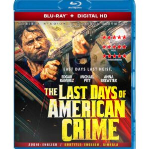 The Last Days of American Crime ( Blu-ray 2020) Region free !!!
