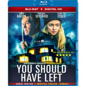 You Should Have Left ( Blu-ray 2020) Region free !!!