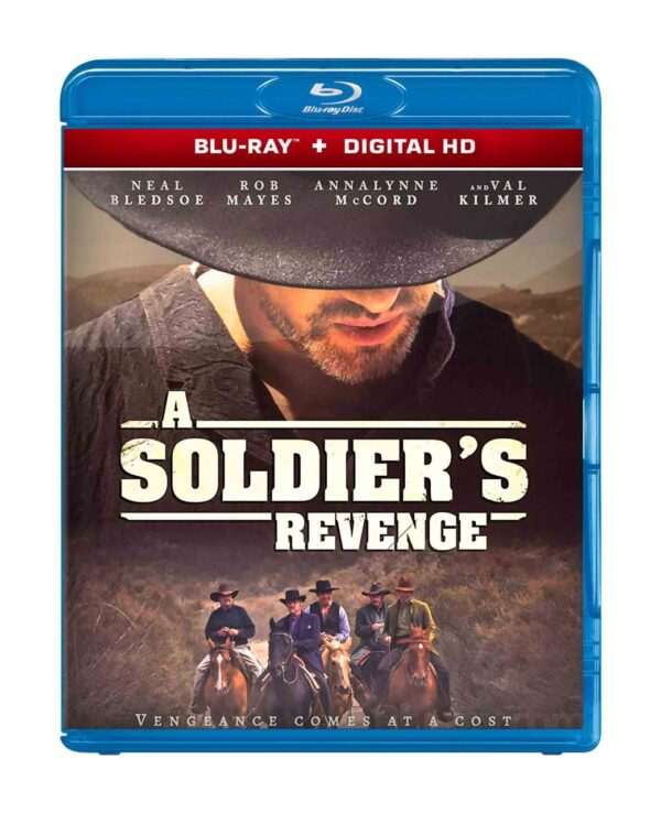 A Soldier's Revenge blu-ray