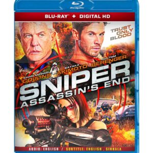 Sniper: Assassin's End ( Blu-ray 2020) Region free !!!