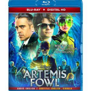 Artemis Fowl ( Blu-ray 2020) Region free !!!